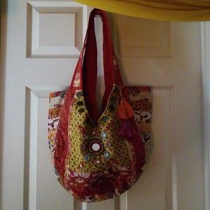 Bohemian mirror bag